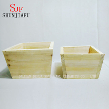 Creative Wooden Planter Small Wooden Planters for Succulent Plant