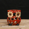 Ceramic Owl Hollowed-out Candle Stand/Candle Holders