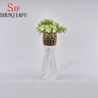 Small Ancient Ceramic Flower Vases Decorative — Chinese Oriental Vases for Home Decoration