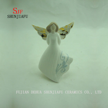 4 PCS / a Variety of Design Ceramic Angel Furnishing Articles/D