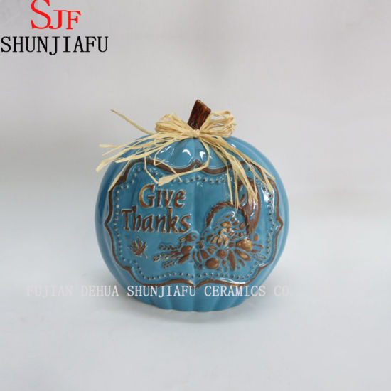 Ceramic Pumpkin Decoration for My Gift
