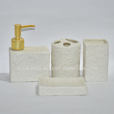 Electroplated Ceramic Sanitary Ware/Gold