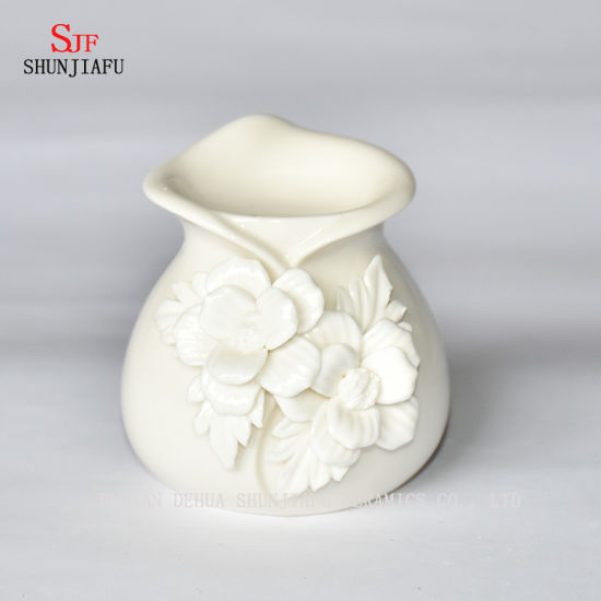 Aroma Lamp White Ceramic Oil Diffuser / Oil Essential / Oil Burner