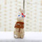 Ceramic Small Rabbit Sit Table Concise Modern Home Decoration