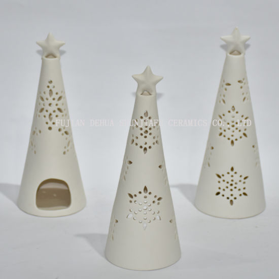 White Christmas Candle Company Christmas Tealight Candle Holder/Gifts