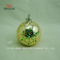 Spherical Electroplated Ceramic Candle Stand, Porcelain Candle Candlestick/F