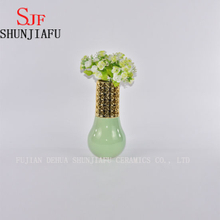 My Gift White Decorative Ceramic Flower Vase