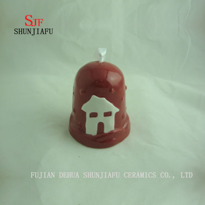 Ceramic Bell Hanging Pendant for christmas or Party, Decoration