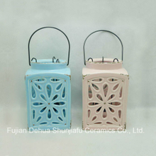 Hollow out Ceramic Antique Candle Lanterns