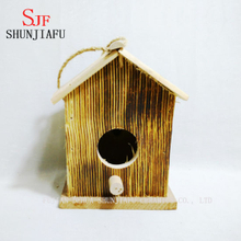 Customized Shape Wooden Bird Nest for Sale