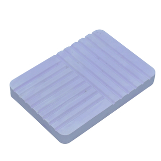 Violet Groove Drain Stripe Diatom Mud Soap Holder