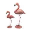 Ceramic Pink Flamingo High Feet