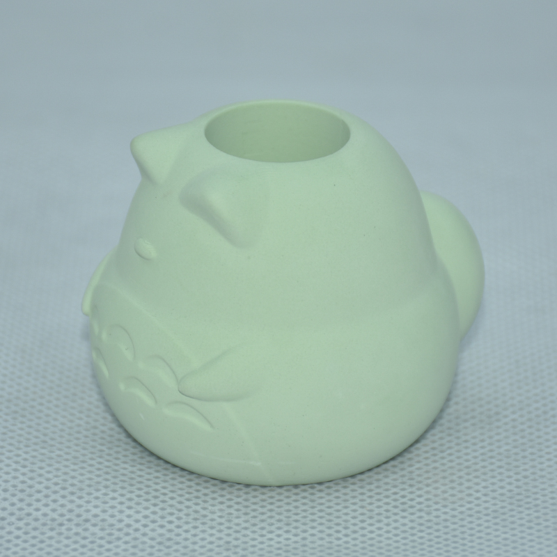 Green Bear Style Design Diatomite Toothbrush Holder