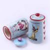 Ceramic Dog Bowl Ceramic pet food storage jar