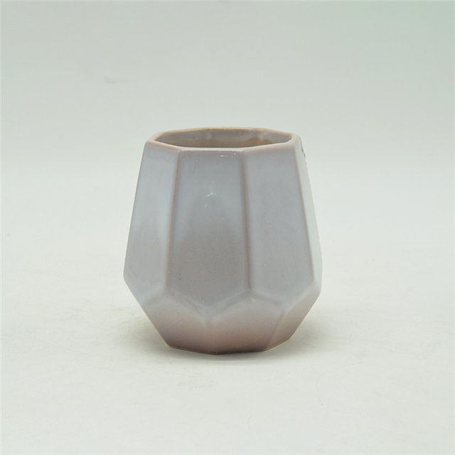 Ceramic Candle Cups in Classical Colors