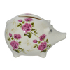 Cute Wear a Skirt Pink Pig Ceramic Piggy Bank Home Decoration Children like ceramic piggy bank