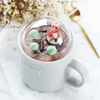Glass, Acrylic Cup Cap Landscape 3D Ceramic Coffee Cup Water Cup Tea Cup