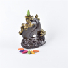 Thread Incense Socket Ceramic Waterfall Reflux Incensetwo dragons looked at each other Ceramic Fingered Citron Dragon Backflow Incense Burner
