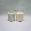 Stand Case Home Decoration Matte White high Cylinder style candle holder