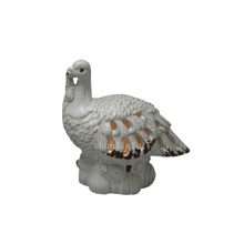 White Turkey Hollow LED Lamp Three Models Ceramic Turkey LED Night Light
