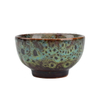 Fashionable Variable Glaze Different Color Choice Custom Printed Dessert Fruit Salad Bowl Ceramic