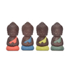 Promotional Gift Home Decor Wedding Gift Different Color Choose Guanyin Figurine Buddha Ceramic Little Monk Statue